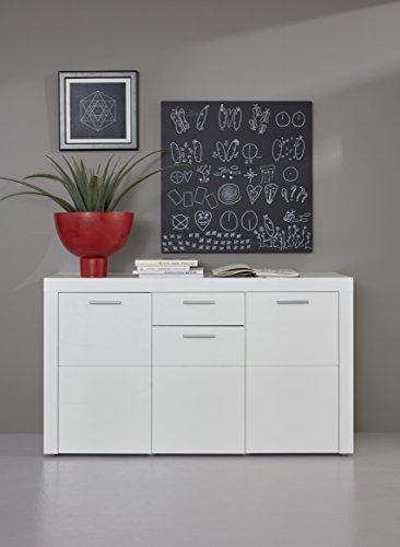 trendteam smart living Wohnzimmer Sideboard Kommode Schrank Kito, 148 x 85 x 41 cm in Korp