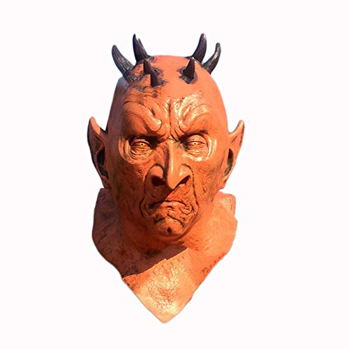 XINXIN Geile, Heftige Ausdrucks Haube Halloween Horror Hex Horror Hood High-End-Latex Monster Kopfbedeckung