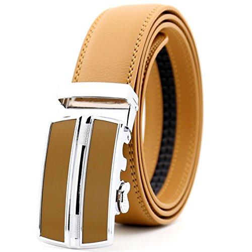 Katusi Hombre Automático Cinturón Cuero LY0257-23