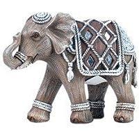 Sigris - Figura elefante resina 12 x 9 x 5 cm