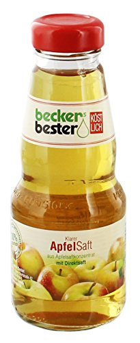 Image of beckers bester - Apfelsaft klar Fruchtsaft Direktsaft - 0,2l inkl. Pfand
