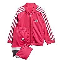 472d36fe20 adidas Baby Shiny Tuta da Allenamento Unisex, DJ1586, Real Magenta/White, 98
