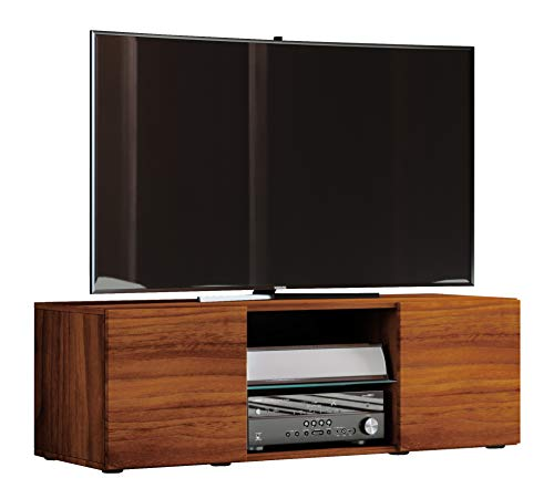 """VCM TV Lowboard Fernseh Schrank Möbel Tisch Holz Sideboard Medien Rack Bank Kern-nussbaum 40 x 115 x 36 cm """"Lowina"""""""