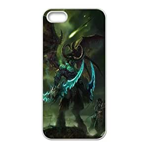 Illidan Stormrage Lord Of Outland Black Temple World Of Warcraft Art Demon Shadowmoon Valley Stormrage Illidan Wow 97080 iPhone 4 4S Cell Phone Case White Cell Phone Case Cover EEECBCAAK70331