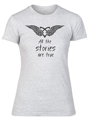 All Stories Are True Quote Damen T-Shirt Small (Film Quote T-shirts)