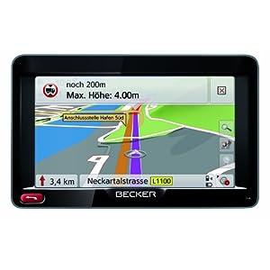 Beste Navigationsgeräte: Becker Transit 50