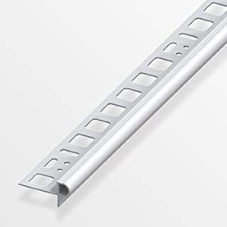 Alfer Florentiner-Treppenkantenprofil 12,5mm/250cm Aluminium eloxiert (silber)