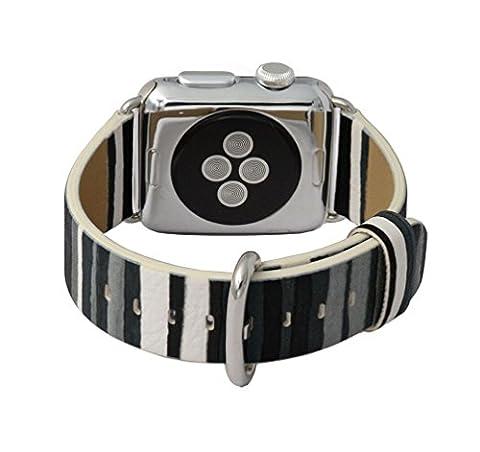 X-super Apple Watch Cuir Bande de matériau, Apple montre bracelet de rechange