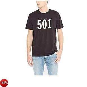 Levi's Graphic Set-in Neck, T-Shirt Uomo, Nero (C18889 501 BLACK GRAPHIC H215-501 4.1 99), M