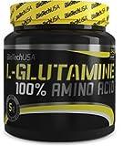 Biotech USA 100% L y Glutamine Aminoácido - 500 gr