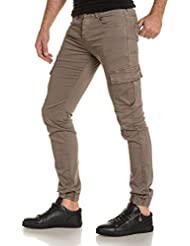 Sixth June - Jogger pant homme sable multi poches