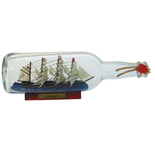 Flaschenschiff- Buddelschiff- Schiff in Flasche- Passat - L 29 cm (In Flasche Einer Schiff)