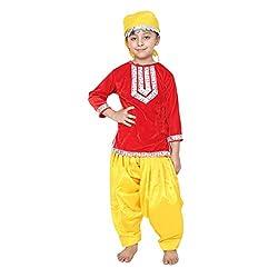 Shri Nikunj Raangoli Kashmiri Girl dress/costume for kids