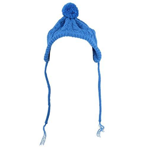 The Worthy Dog Toboggan Hat, Blau, XS