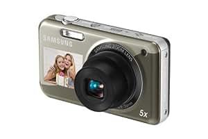 Samsung PL120 Digital Camera - Silver (14MP,5x Optical Zoom,1.5 inch Fron) ,2.7 inch Rear LCD
