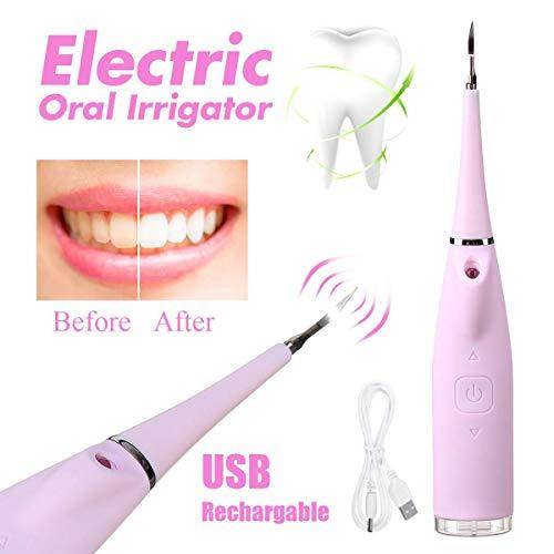 Irrigador Oral eléctrico portátil Limpiador dientes