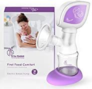 R for Rabbit Comfort Electric Breast Pumps-Smart Pump for Moms with Anti Back Flow, 2 Modes and Rechargeable B