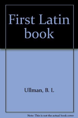 First Latin book