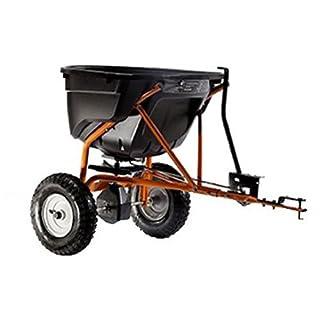 Agri-Fab AG45-0463 130lb Towed Broadcast Smart Spreader - Black/Orange