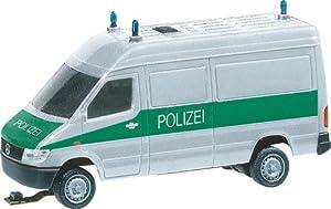 Herpa Car System 161542 - Faller H0 - Car System - MB Sprinter policía con luz Intermitente