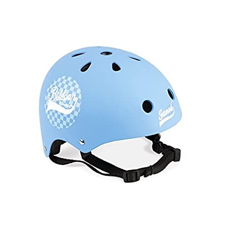 Janod J03273 Bikloon Helm für Kinder, Blau