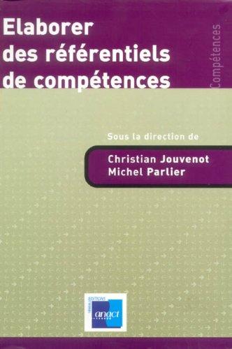 Elaborer des référentiels de compétences par Christian Jouvenot