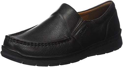 Sioux Mens Sasuke-xl Slipper Black (nero 000)
