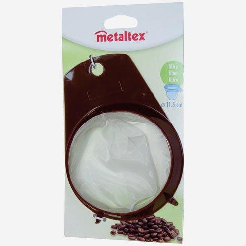 Metaltex 256401080 Dauerkaffeefilter, Durchmesser 11,5 cm, braun