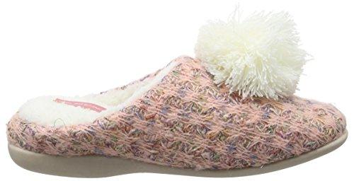 Dunlop - Adeline, Pantofole Donna Arancione (Orange (Peach))