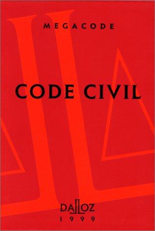 CODE CIVIL 1999. 3ème édition