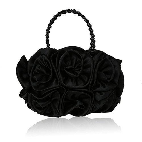 Sac de soirée fleur/ sac à main perlé/ sac de partie-F F
