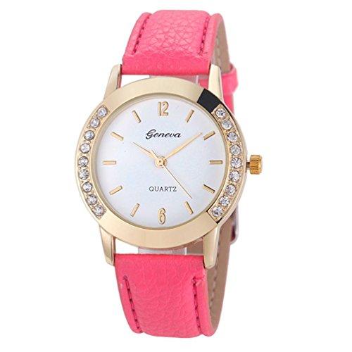 WINWINTOM-Women-Diamond-Analog-Leather-Quartz-Wrist-Watch-Hot-Pink