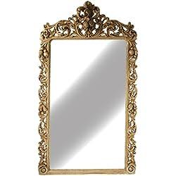 recuperado de madera moderno antiguo hecho a mano espejo