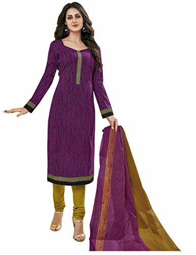 Miraan Unstitched Cotton Dress Material / Churidar Suit for Women   Party wear   Free Delivery