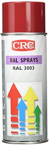 CRC Deco Spray Pintura, Rojo Rubí, 400 ml
