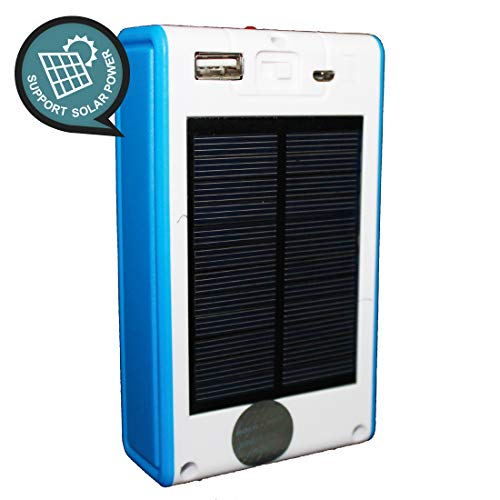 Best solar power bank in India 2020 Pick Ur NeedsTM Emergency 21 LED Wireless Solar Light with Power Bank, Wall Light and Lighting for Wall, Patio, Backyard, Emergency Light, Two Brightness Mode Image 3