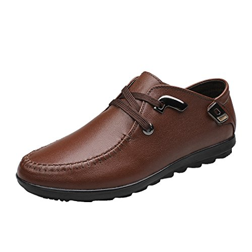 spades-clubs-mens-genuine-leather-fashion-casual-style-trendy-2-eyelet-loafer-lace-flat-shoes-size-5