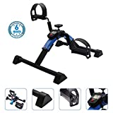 Voroly Heavy Duty Pedal Exerciser - Arm & Leg Exercise Peddler Machine