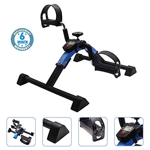 Voroly Portable Ab Exercise Bike Cycle Peddle Exerciser Gym Fitness...