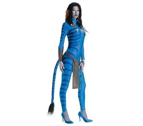 Erwachsenen-Kostüm Avatar Neytiri - Größe XS