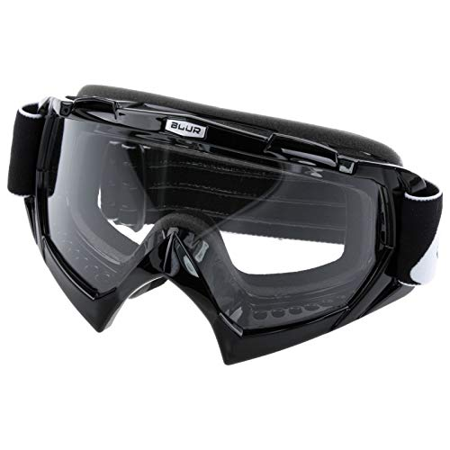 O'Neal B-Flex Goggle Schwarz Blur Brille Motocross Mountain Bike Downhill MX MTB Cross, 6024B-210 (Mountain-bike Mit Motor)
