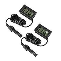 Description du produit: Ce mini thermomètre numérique d'humidité vous permet de connaître facilement et rapidement la température ambiante et l'humidité autour de vous. Idéal pour les bureaux, les chambres à coucher, les salons, les incubateurs, les ...