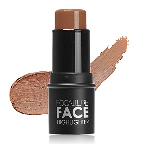 DDU(TM)professionelle highlighter kontur multi - pulver stick gesicht auge stiftung Makeup Foundation 3# (Make-up Foundation Stick)