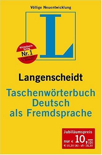 Taschenwörterbuch Deutsch als Fremdsprache