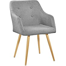 Amazon Fr Chaises Design Scandinave Vintage