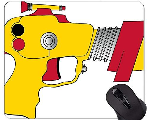 Yanteng Tappetino per Mouse da Gioco in Gomma Antiscivolo, Tappetino per Mouse Giocattolo per Ufficio Pistola Giocattolo