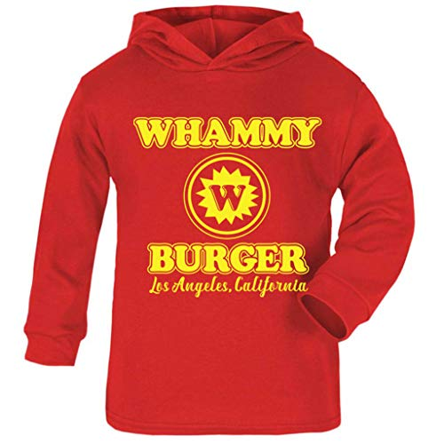 Kostüm Anchorman - Cloud City 7 Whammy Burger Anchorman Baby and Kids Hooded Sweatshirt