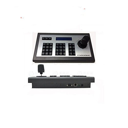 CCTV accessory 4D IP joystick Keyboard Controller LCD display for Hikvision IP PTZ cameras onvif by MY Ptz-controller