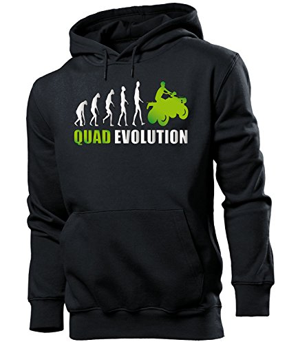 QUAD EVOLUTION 548(HKP-SW-Grn) Gr. XL Schwarz / Grn