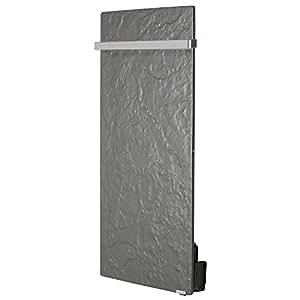 Sèche-serviettes électrique inertie Touch Valderoma vertical 1300W